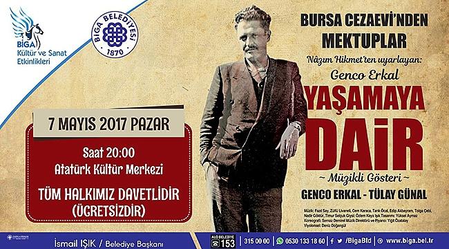 Genco Erkal, Yaşamaya Dair ile Atatürk Kültür Merkezi'nde