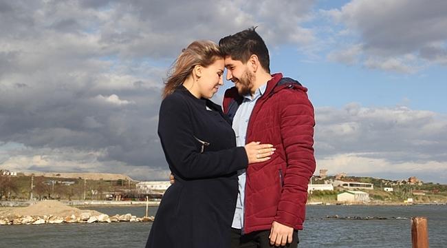 Yabancı geline Karabiga'da sürpriz evlilik teklifi