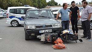 Biga'da Kaza: 1 Yaralı