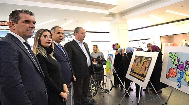 Biga'da el sanatları sergisi açıldı