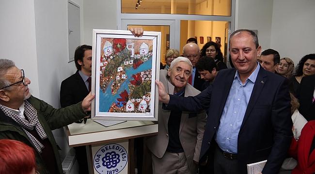 Sanat Merkezi'nin açılışını Prof. Dr. Barutçu yaptı