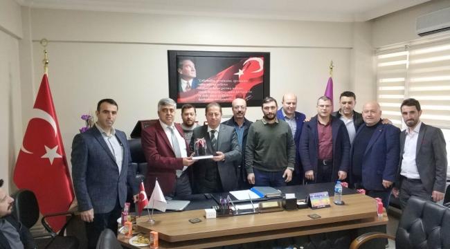 Başkan Özcan, Esnaf ve Sanatkarlar Odasını Ziyaret Etti