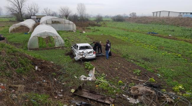 Ünlü Yazar Kahraman Tazeoğlu Biga'daTrafik Kazası Geçirdi