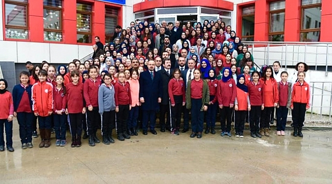 Şehit İbrahim Ateş Kız Anadolu İmam Hatip Lisesine Yapılan