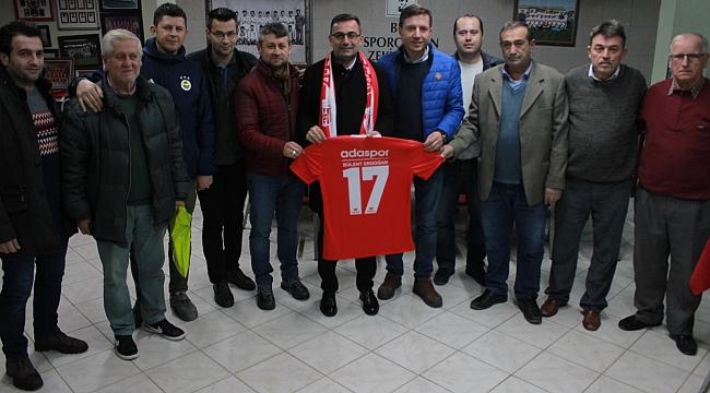 Erdoğan'dan Adaspor Kulübüne Ziyaret
