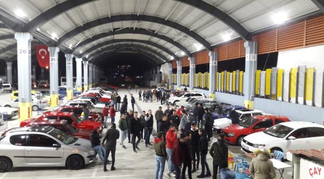 Modifiyeli Araç Tutkunları Biga'da Toplandı