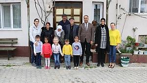 İlçe Milli Eğitim Müdürü Erkan Bilen Yaşlıları Unutmadı