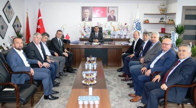 Biga Ticaret Borsası'ndan Erdoğan'a