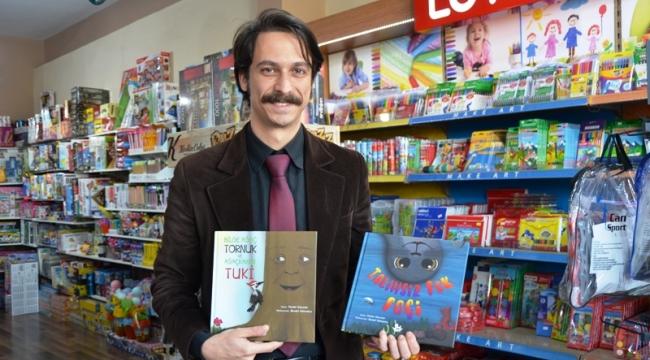 Yazar Murat Gülcen´in iki çocuk kitabı çıktı