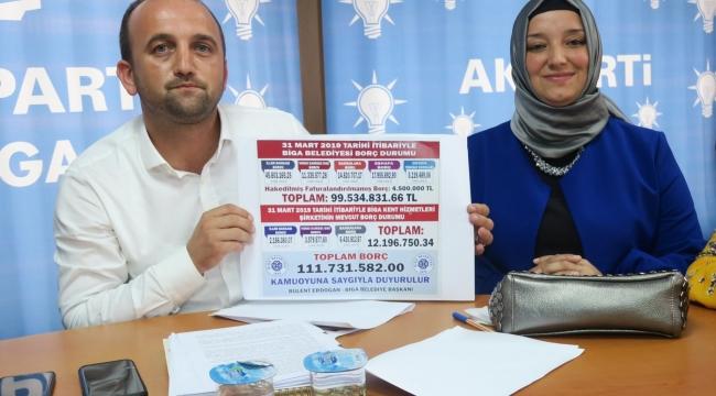 Ak Parti Biga İLçe Başkanı Ahmet Şahin'den Açıklama