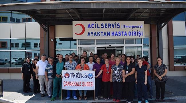 Türk Sağlık-Sen Yetkililere Seslendi