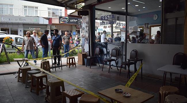 Biga Şehir Merkezinde Cinayet