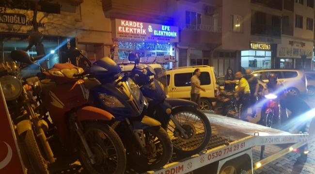 Emniyet Plakasız Motosikletlere Göz Açtırmıyor