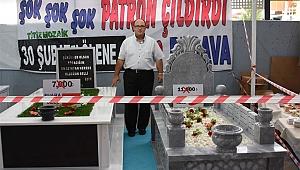 Fuara özel indirimli mezarlar şaşırttı!
