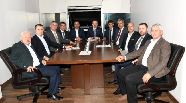 Turan, belediye başkanlarıyla Biga'da toplantı yaptı