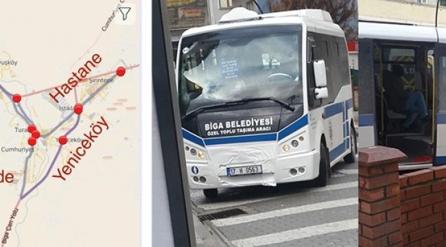 Biga'da Minibüsler 24 Saat Çalışacak