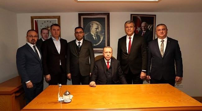 Belediye Başkanları Cumhur Başkanı ile Yatırımları Konuştu