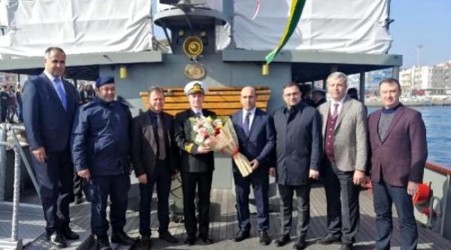 Nusret Mayın Gemisi, Karabiga'da ziyarete açıldı