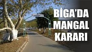 Biga Hıfzısıhha'dan mangal kararı!