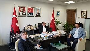 BAŞKAN ÖZTÜRK'TEN ERKEK'E ZİYARET