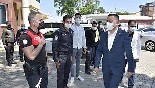 Kaymakam Can ve Başkan Erdoğan'dan Bayram Ziyaretleri